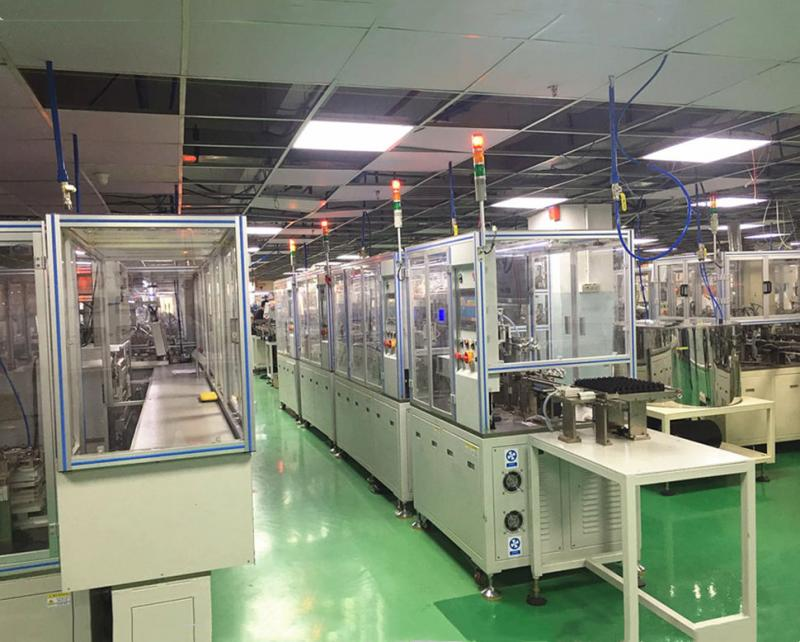 production line relay assembly line