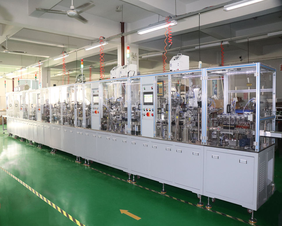 Contactor automatic assembly product line